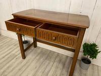 Oak Desk Side Table (4 of 4)