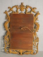 Classical Late 19th Century  Chippendale Style Giltwood Mirror (2 of 4)