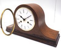 Good Napoleon Hat Shaped Mantel Clock – Striking 8-day Mantle Clock (7 of 11)