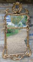 Stunning Twin Plate Rococo Mirror 19th Century (2 of 8)