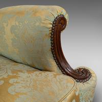 Antique Wing-Back Armchair, English, Lounge, Fireside, Seat, Edwardian c.1910 (3 of 12)