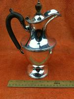 """Antique Silver Plate """"Martinoid"""" Coffee Pot -  Martin Hall & Co , C1900 - Sheffield (2 of 8)"""