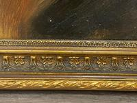 Pair of Scottish 19th Century Oil Paintings Rough Collie Dog Portraits After George Washington Brownlow (37 of 49)