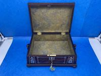 William IV Rosewood Box With Mother Of Pearl Inlay (11 of 14)