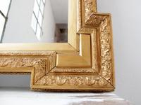 19th Century Shaped Gilt Mirror (6 of 6)