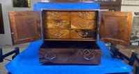 Japanese Inlaid Table Cabinet c.1900 (3 of 11)