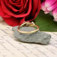 The Vintage Brilliant Cut Foliate Diamond Ring (5 of 5)