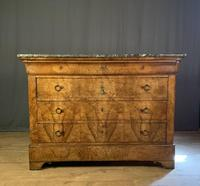 Large Louis Philippe Walnut Commode (5 of 12)