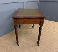 Victorian Walnut 2 Drawer Writing Table (9 of 15)