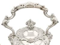 Sterling Silver Louis Spirit Kettle - Antique Victorian 1855 (10 of 18)