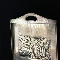 Arts and Crafts  Repousse Brass Tray (5 of 5)