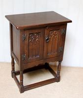 Oak Side Cabinet (7 of 9)