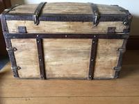 Antique Domed Wooden Sea Trunk c.1850 (9 of 13)
