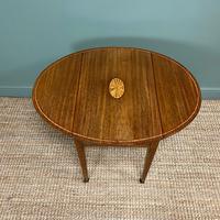 Victorian Mahogany Antique Drop Leaf Table (3 of 6)