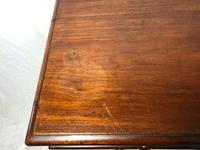 Antique Regency 19th Century Circa 1820 Irish Campaign Side Table With Drawer (7 of 12)