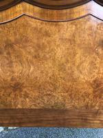 Antique Burr Walnut Double Bed (6 of 9)