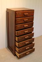 Oak Chest Of Filing Drawers (2 of 5)