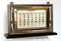Silver Fronted Perpetual Calendar - London1985