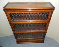 mahogany Globe Wernicke stacking bookcase / sectional bookcase (3 of 7)