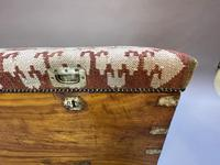 19th Century Campaign Camphor Chest Seat (7 of 13)