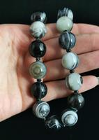 Antique Victorian Banded Agate Bead Necklace (9 of 13)