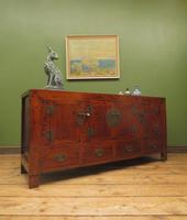 Antique Style Chinese Sideboard, Oriental Sideboard TV Stand (21 of 23)