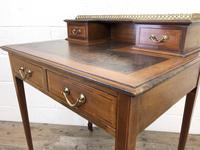 Antique Edwardian Mahogany Bonheur Du Jour Desk (9 of 15)