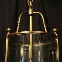 French Bronze Triple Light Antique Lantern (3 of 10)