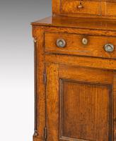 Handsome George III Period Oak Dresser & Rack (5 of 9)