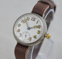 1923 Borgel Cased Silver Trench Watch (2 of 5)