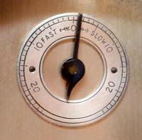 Burr Walnut Arch Top Bracket Clock (8 of 11)
