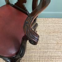Set of 8 Edwardian Antique Walnut Dining Chairs (8 of 13)