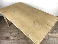 Antique Pine Farmhouse Style Kitchen Table (8 of 13)