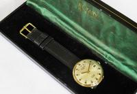Gents 9ct Gold Rotary Watch, 1969 (2 of 5)