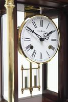 Howard Miller Signature Series Mantel Clock visible pendulum 4 Glass Mantle Clock (10 of 12)