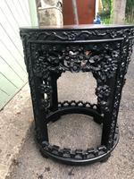 Antique Oriental Chinese Marble Top Stand (5 of 5)