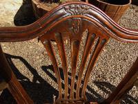 Set of 8 Hepplewhite Style Mahogany Dining Chairs (8 of 12)