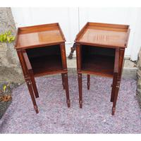 Fine Pair of Gillows Style Mahogany Bedsides (3 of 7)