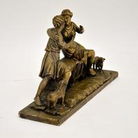 Antique Carved Wood Classical Sculpture (12 of 12)