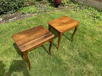 Pair of Walnut Side Tables (3 of 6)