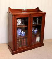 Mahogany Display Bookcase (5 of 9)