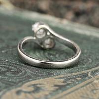 The Toi Et Moi Dial Old European Cut Vintage Diamond Ring (6 of 7)
