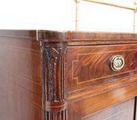 Georgian Figured Mahogany Pedestal Sideboard (11 of 14)