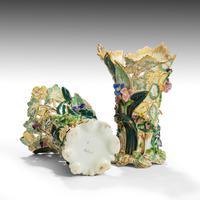 Fine Pair of Mid 19th Century Coalbrookdale Vases (2 of 4)