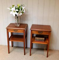 Pair of Yew Tables (10 of 10)