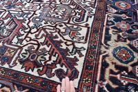 Old Heriz Carpet 296x212cm (5 of 8)