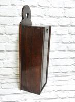 Oak Candle Box - Georgian (2 of 5)