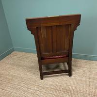 Quality Antique Oak Wainscot Chair (9 of 10)