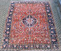 Antique Heriz Carpet 349x265cm (2 of 10)