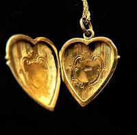 Antique 9ct Gold Glasgow Assayed Locket 1911 (4 of 9)